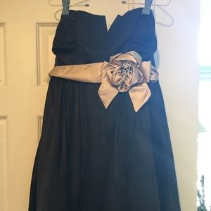 Prom or cocktail black dress